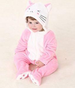 Pijama Gato Rosa