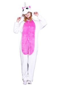 Pijama Kigurumi Unicornio blanco