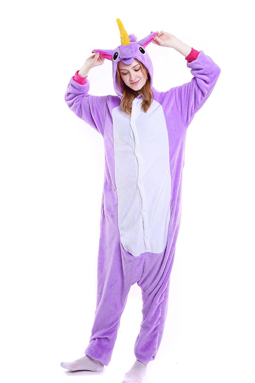 Pijama Kigurumi Unicornio lila