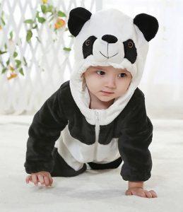 Pijama Panda para bebe