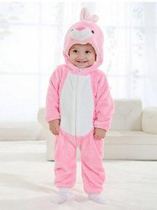 Pijama conejo rosa