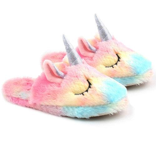 Zapatillas de Unicornio para mujer